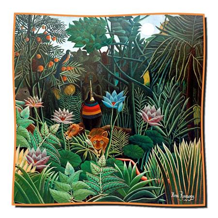 Artikel Nr. 1132 Der Traum (Tiger) - Rousseau (100 x 100 cm)