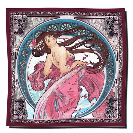 Artikel Nr. 1103 - La Danse rot (100 x 100 cm)