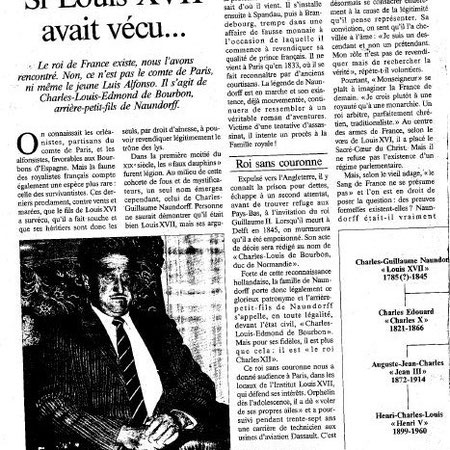 Article Point de vue n° 2261 Nov 91 Hari Seldon