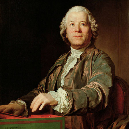 Christoph Willibald Gluck (retrato por Joseph Duplessis en 1775).