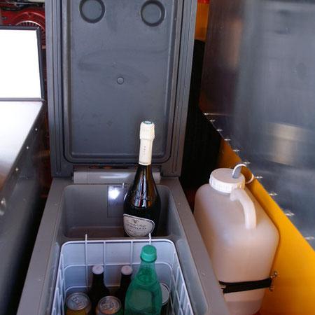 Réfrigérateur à compression (12V/24V/110V/220V) amovible