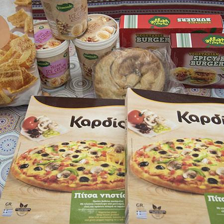 Veganes Angebot zur griechischen Fastenzeit an Ostern bei Lidl.