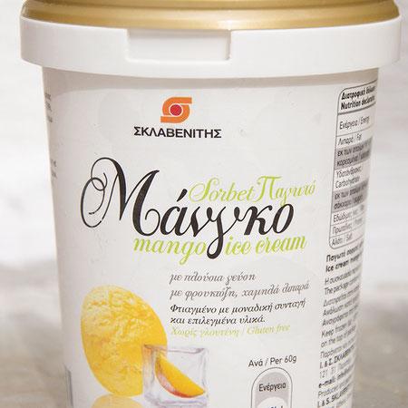 Mango Sorbet von Sklavenitis