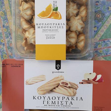 Kekese mit Orange oder Apfelzimt Füllung von Lidl