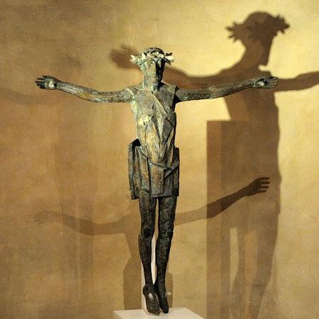 Skulptur in der Goslarer Kirche