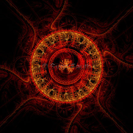 Fraktale DNA + Vulkan 1 - © Sven Fauth