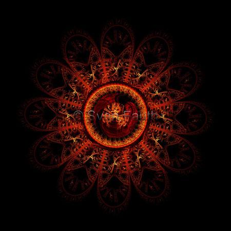 Fraktale DNA + Vulkan 2 - © Sven Fauth