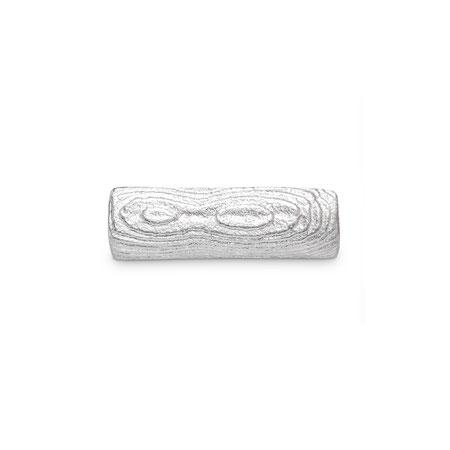 Bild: Sepia Guss Manschettenknöpfe Hypersion Rechteck handgearbeitet aus 925er Sterlingsilber
