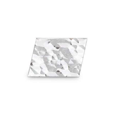 Bild: Hammerschlag Manschettenknöpfe Pesolt Raute handgearbeitet aus 925er Sterlingsilber