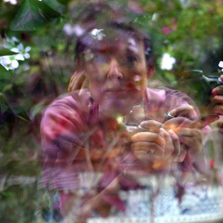 Autoportrait - prises de vue - photographie sur dibond - 40x60 cm - 2014 - M.Pavlïn
