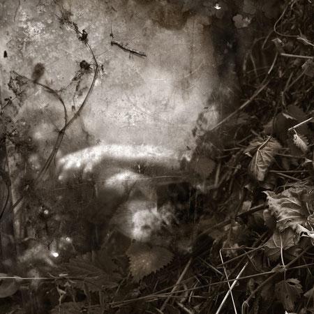 autoportrait - au jardin - 2015 - M-Pavlïn