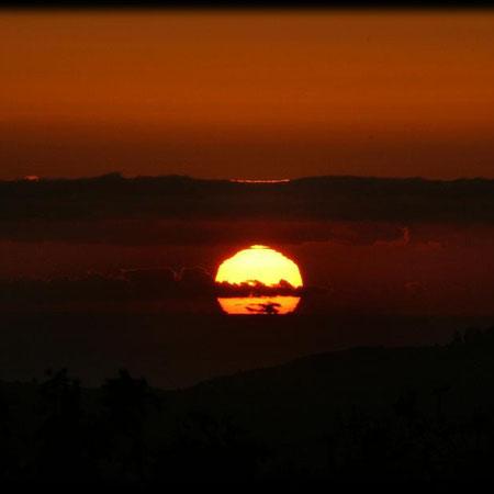 Puesta de Sol, La Palma,  2010