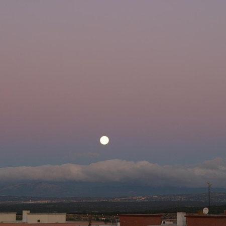 Cinturón de Venus sobre Madrid 2008