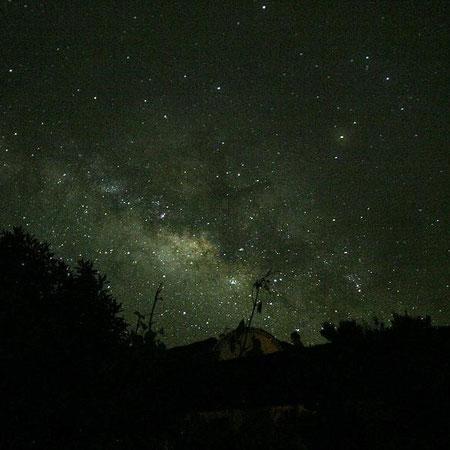 Vía Láctea sobre La Palma, 2008