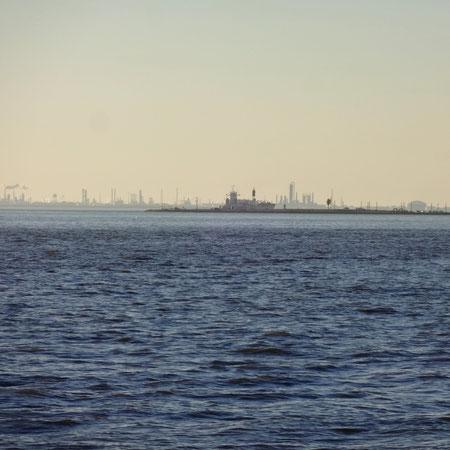 Ölindustrie bei Houston...