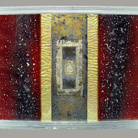 Dalle de verre 50 x 40 x 4 cm