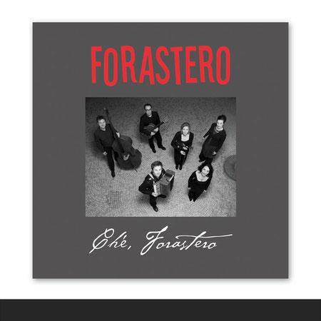 »Forastero« CD-Cover für eine Tango-Band