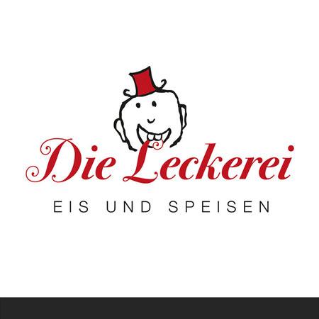 »Die Leckerei« Logo für ein Eiscafé