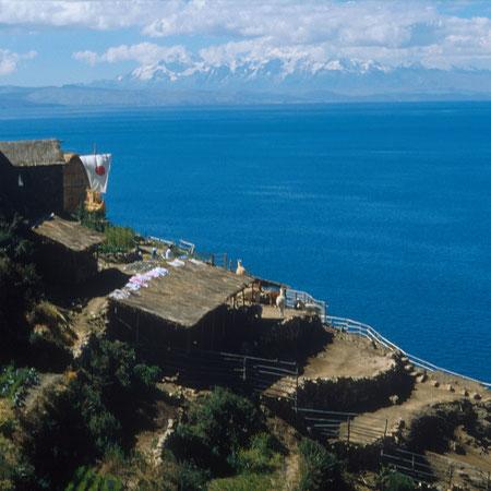 Zum Titicacasee fahren mit BOLIVIENline