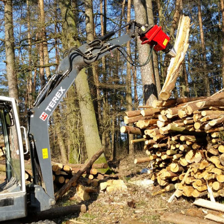 WALK EASY 200 AUF TAKEUCHI MINIBAGGER