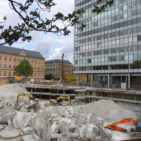 Umbau Unilever-Gebäude, Sommer 2009, Hamburg