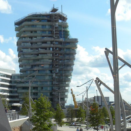 Marco Polo Tower, HafenCity, Hamburg |  © GreenImmo
