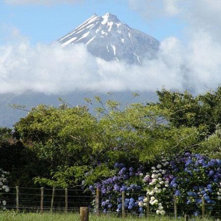 Vulkan Taranaki bei New Plymouth