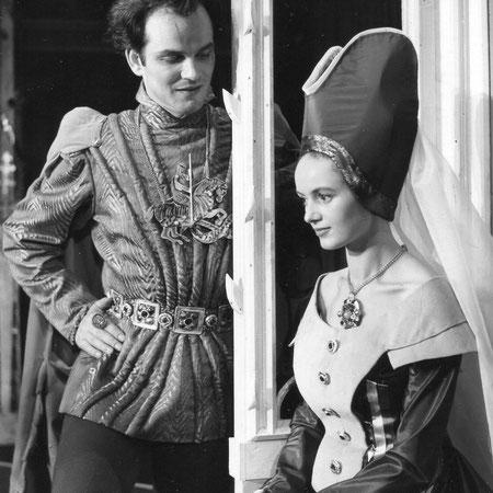 Heinrich IV mit Martine Bidonse