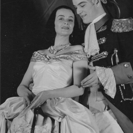 Kayserling Operette Adrienne mit Ingeborg Fanger