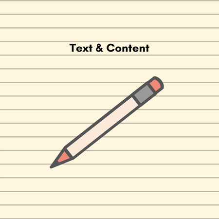 Text & Content