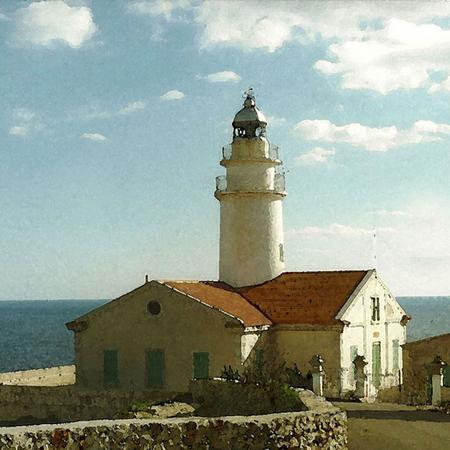 Faro Cap Capdegera - Mallorca 40x30