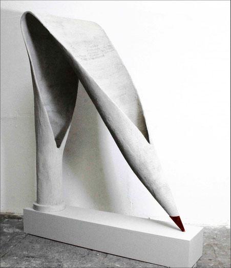 "Brigitte Mekelburg Kunst/ Skulptur ""gender"""