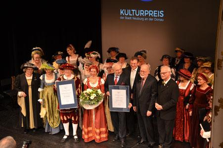 Verleihung des Kulturpreises der Stadt Neuburg an der Donau im Jahr 2017
