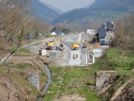 La gare de Bedous, étape avant Canfranc en 2020, une aubaine pour le tourisme vu par l'ACCOB