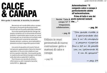 Guida Calce & Canapa