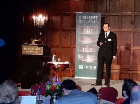 Lecture for Bicon at the Harvard Club in Boston