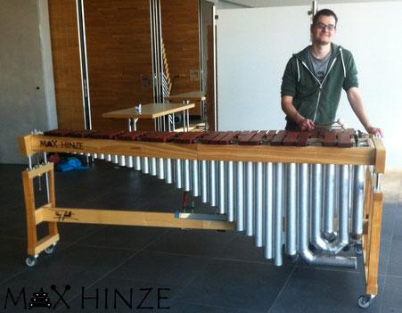 Marimbaphon 5 Oktaven - Max Hinze, Wunschkonzert der Stadtmusik Engen 2016, selbs´tgebaut, DIY MArimba, Marimbaphon, Instrument