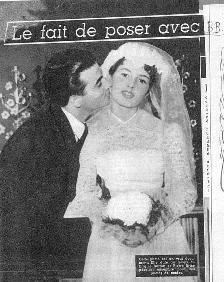 Modemagazin: Pierre Brice und Brigitte Bardot