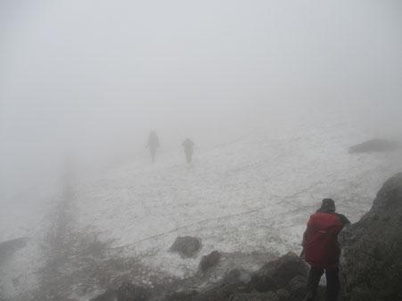 大雪山国立公園 雪渓