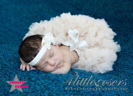 Neugeborenen Outfit, Haarband & Tutu Set Rock für schöne Babybilder, Fotografen Requisiten, einmalige Erinnerungen, Neugeborenen Baby Outfit Prop, Taufe