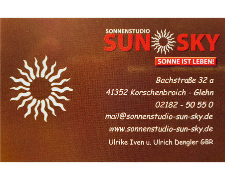 Sun Sky Korschenboich