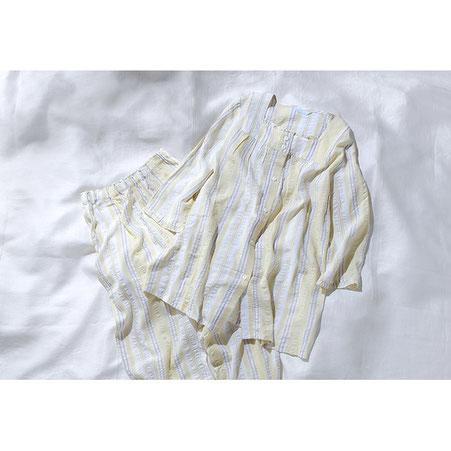 「キッドブルー」7分袖パジャマ