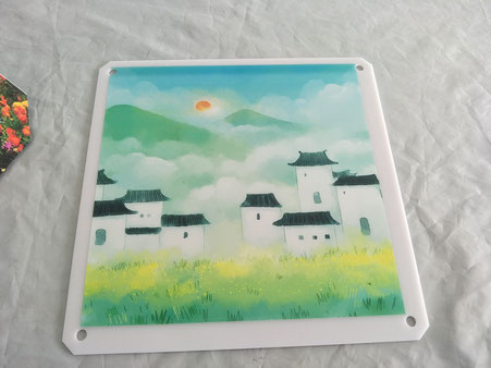 UV printing services - China laser cutting service on