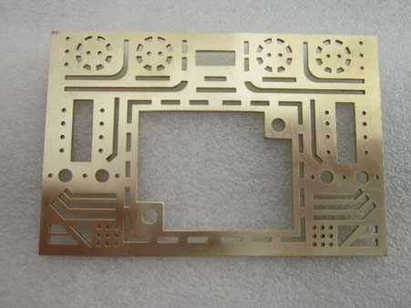 laser cutting brass parts