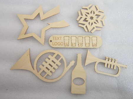 laser cutting plywood parts