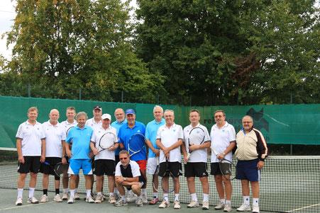 Alle Tennisspieler von Griesheim und TuS Bosenheim