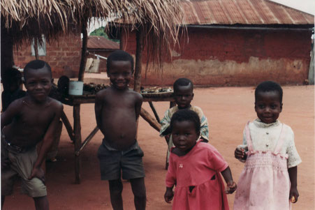 unvergesslich- die Neugier und der Dank der Kinder