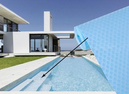 Rivestimento per piscine Alkorplan antisdrucciolo