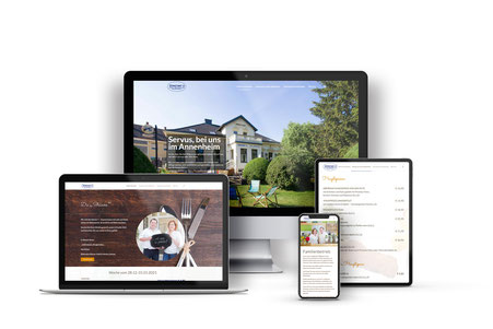 Steiners Annenheim Webdesign mit Wordpress