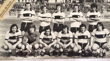 1972-73 Amichevole con la Sampdoria